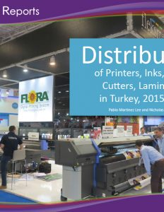 Distributors of Printers, Inks, Media, Cutters and Laminators in Turkey 2015-2016