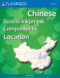 Chinese Textile Inkjet Ink Companies by Location