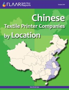 Chinese Textile Printer Companies by Location