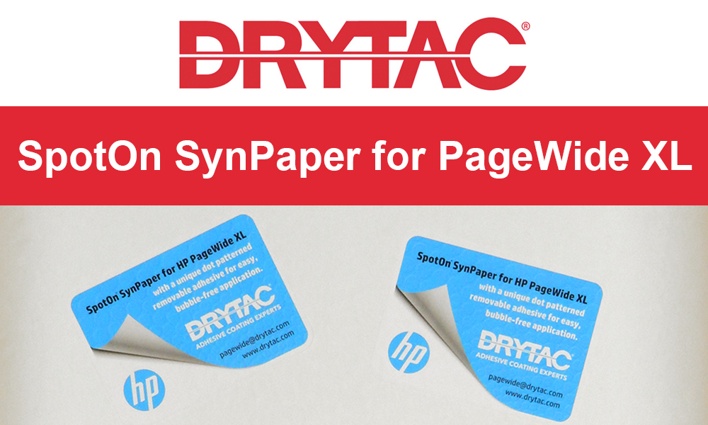 Drytac SpotOn SynPaper for HP PageWide XL