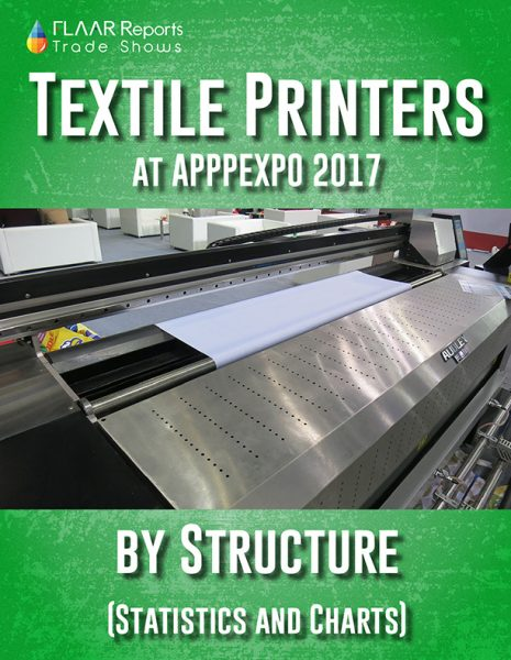 Comparison of Printheads in Textile Printers exhibited at APPPEXPO 2017 - Front Cover