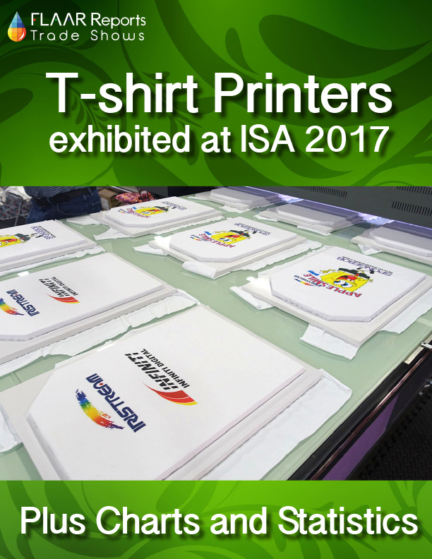 comparison of t shirt printers exhibited at isa 2017