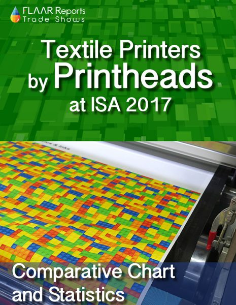 Textile Printers by Printhead, at ISA 2017 - Front Cover