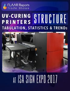 ISA 2017 UV Curing printers structure TRENDs FLAAR Reports - Cover