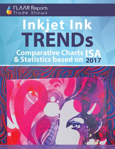 Inkjet ink TRENDs with comparative charts and statistics based on ISA 2017 - Front Cover