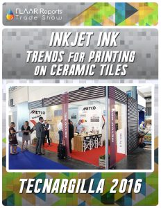 Inkjet Ink TRENDs for printing on Ceramic Tiles - Front Cover