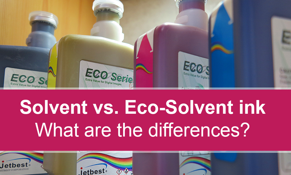 Image result for solvent vs eco-solvent printing