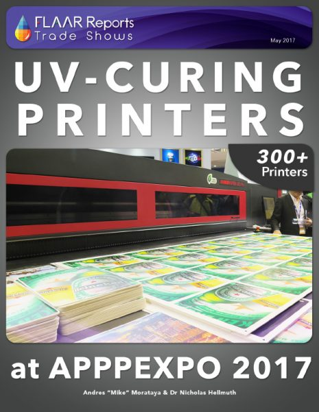 UV-Curing Printers APPPEXPO 2017 - Front Cover