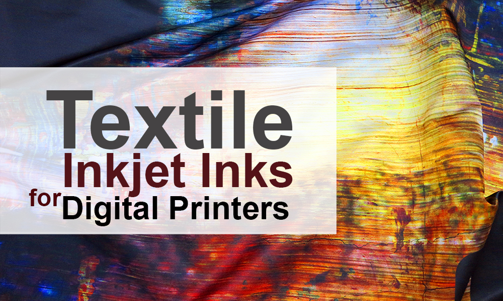 Textiles are one of the fastest growing sectors of digital printing.