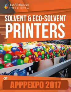 Solvent & Eco-solvent printers preview APPPEXPO 2018 - Front Cover