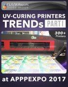 APPPEXPO 2017 UV Curing printers TRENDS Cover PART I