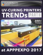 APPPEXPO 2017 UV Curing printers TRENDS Cover PART II