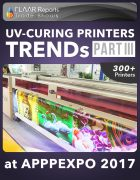 APPPEXPO 2017 UV Curing printers TRENDS Cover PART III