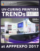 APPPEXPO 2017 UV Curing printers TRENDS Cover PART IV