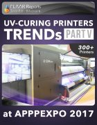 APPPEXPO 2017 UV Curing printers TRENDS Cover PART V