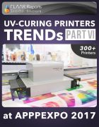 APPPEXPO 2017 UV Curing printers TRENDS Cover PART VI