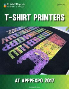 T-shirt Printers at APPPEXPO 2017 - Cover