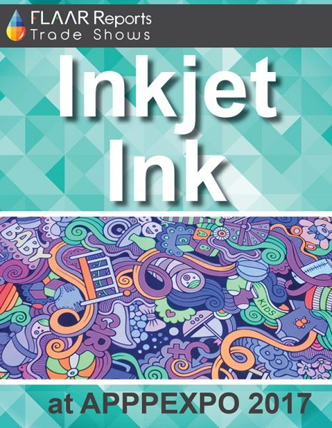 APPPEXPO 2017 Inkjet Ink FLAAR Reports - Cover