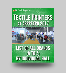 Textile-Printers-at-APPPEXPO-2017-brands-from-A-to-Z-FLAAR Reports