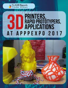 3D Printers, Rapid Prototypers, Applications at APPPEXPO 2017 - Cover
