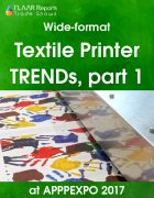 Textile Printers TRENDs at APPPEXPO 2017 PART I