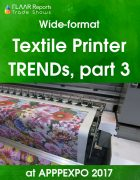 Textile Printers TRENDs at APPPEXPO 2017 PART III Cover