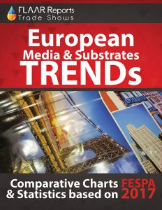 FESPA_Hamburg_2017_FLAAR_Reports_Media_Substrates_rigid_flexible_charts_statistics - Cover