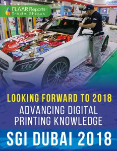 Looking forward to 2018, Advancing digital printing knowledge at SGI Dubai 2018 - Cover