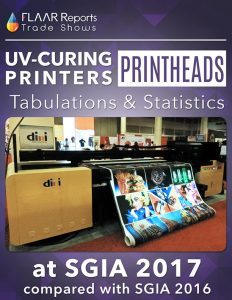 SGIA-2017-FLAAR-Reports-UV-Curing-printers-printheads-tabulation-statistics-Front-Cover