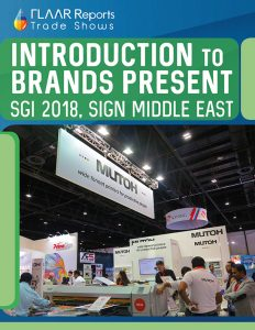 Introduction to brands present at SGI Dubai 2018