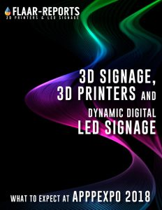 APPPEXPO-2018-FLAAR_Reports-3D-printers-LED-signage-what-to-expect-Front Cover