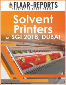 SGI-2018-FLAAR-REPORTS-Dubai-solvent-printer - Front Cover