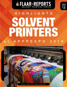 APPPEXPO-2018-highlights-solvent-printers-FLAAR-REPORTS - Front Cover