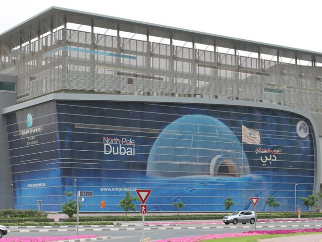 building-wrapping-dubai-north-pole-FLAAR-REPORTS