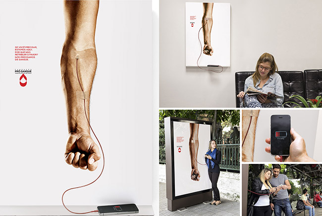 fundacao-pro-sangue-blood-donation-phone-recharger-media-outdoor