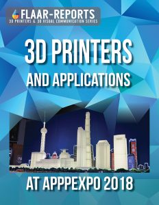 3D printers exhibited in APPPEXPO 2018