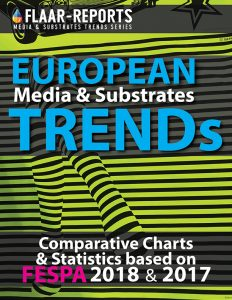 FESPA-Berlin-2018-European-TRENDS-Media-Substrates-rigid-flexible-charts-statistics-FLAAR-REPORTS - Front Cover