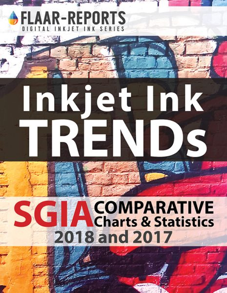 SGIA-2018-FLAAR-REPORTS-Inkjet-Inks-charts-statistics - Front Cover