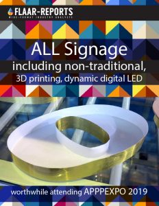 APPPEXPO-2019_what-to-expect-3D-printing-signage-visual-communications-based-on-2018-FLAAR-REPORTS - Front Cover