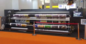 ATPColor Softjet 5000, 5-meter textile printer.