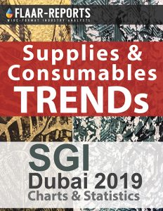 SGI-2019-Dubai-FLAAR-REPORTS-consumables-supplies-media-substrates-inkjet-inks-charts-statistics