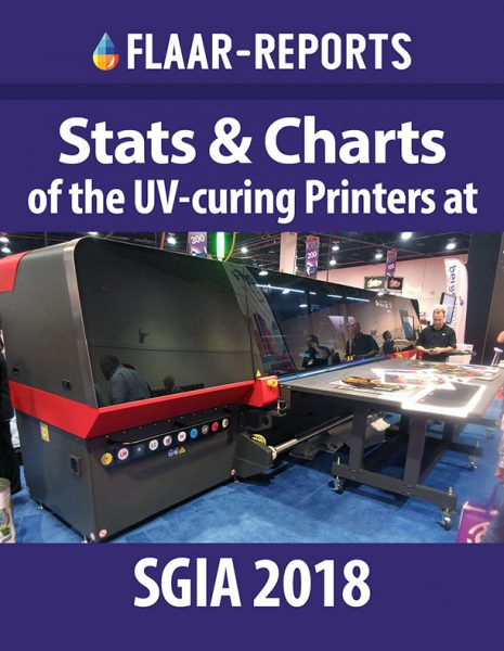 SGIA-2018-UV-printers-Stats-and-Charts - Front Cover