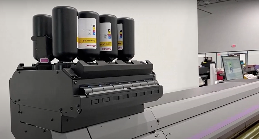 Mimaki-UJV100-160-roll-to-roll-UV-curing-LED-printer
