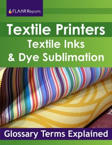 Cover of Glossary of textile inkjet terms