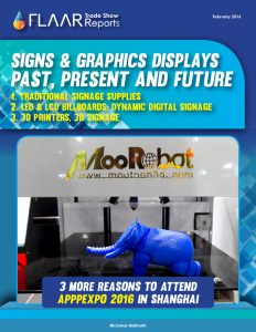 APPPEXPO 2016 LED 3D traditional signage