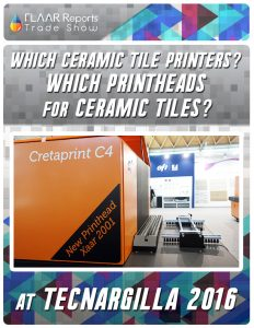 Which Ceramic Tile printers? Which Printheads for Ceramic Tiles? - Front Cover