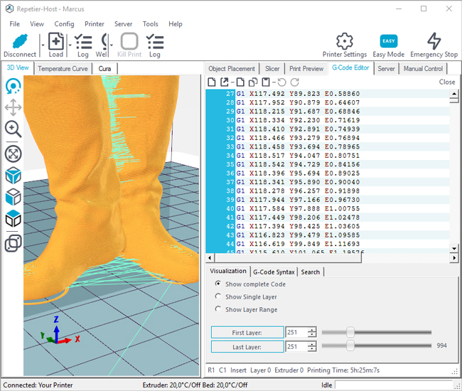 repetier-host-3D-printing-software-g-code