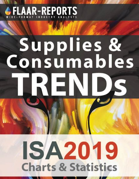 ISA-2019-Las-Vegas-consumables-supplies-media-substrates-inkjet-inks-charts-statistics-FLAAR-REPORTS