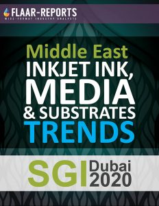 SGI-Dubai-2020-FLAAR-REPORTS-TRENDs-Inkjet-Ink-Media-Substrates-consumables-charts-tabulations